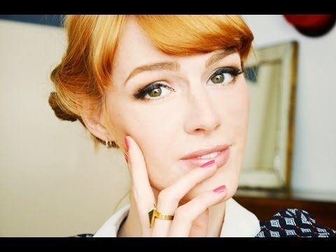 Mad Men Make Up and Outfit Joan Harris TUTORIAL von Vickys Mode Blog
