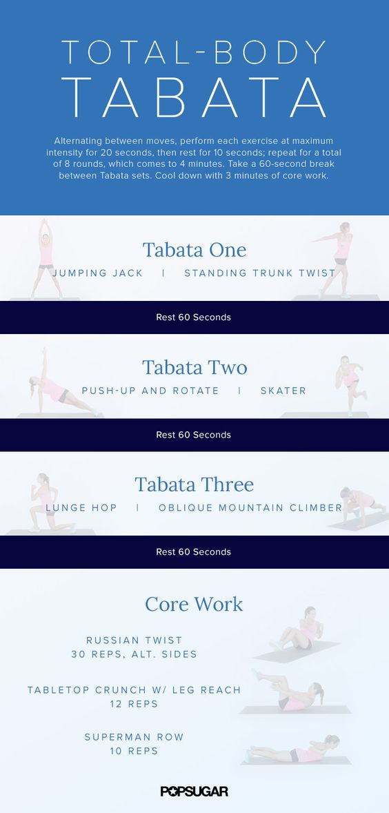 20-Minute Burn and Tone Tabata Workout