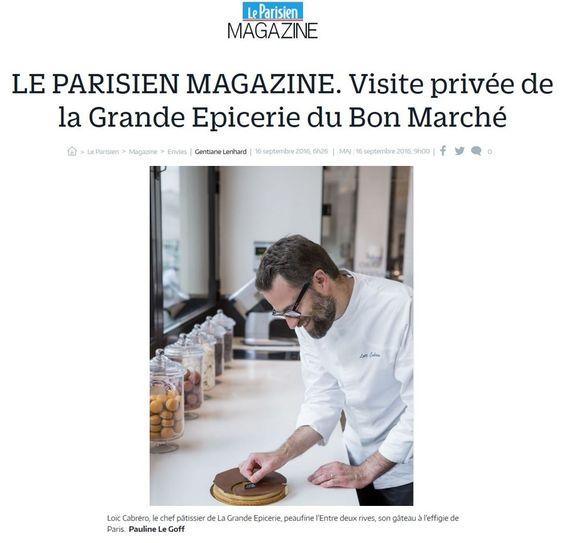 Visite privée de laGrandeEpicerie du Bon Marché - LE PARISIEN #ParisVuALaGrandeEpicerie #VuALaGrandeEpicerie #LaGrandeEpicerie #PressBook #PressReview