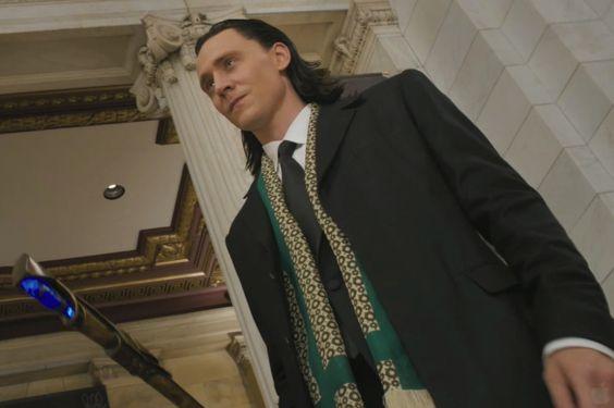 Tom Hiddleston - LOKI from The Avengers!