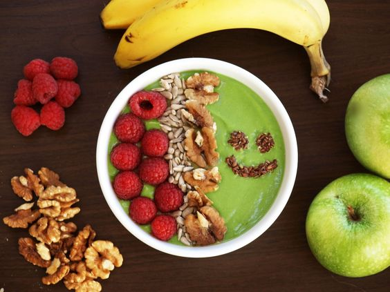 Matcha Tee Smoothie Bowl Rezept
