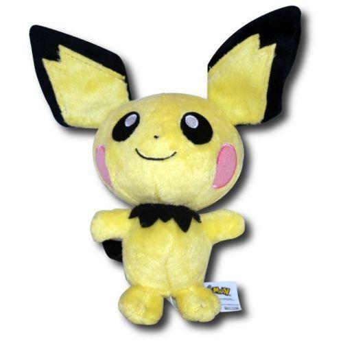 Pokemon-Pluesch-Bandai-Pikachu-Pichu-Panflam-Endivie-Chelast-Feurigel-NEU