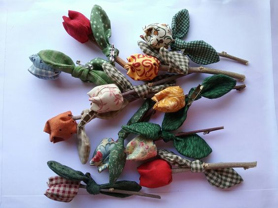 Broches flores