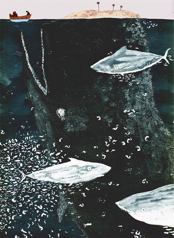 Ahab y la Ballena Blanca (2013/2014) - Manuel Marsol