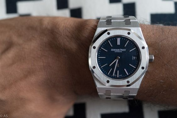 Audemars Piguet Royal Oak 15202 Blue Dial