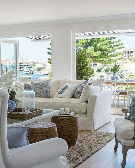 Pinterest Picks Left Or Right Which Would You Pick Find More Information On Our Weekly P Home Decor Near Me Beach House Living Room Coastal Living Rooms