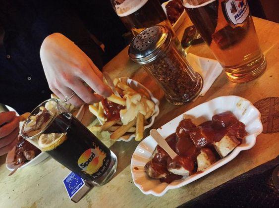 best currywurst in town! Bergwolf @Fraunhoferstraße Munich