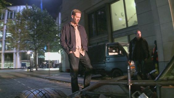 Paul on set of FF6