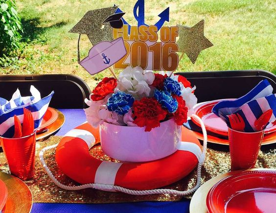 "Graduation/Navy going away party / Graduation/End of School ""Latira's Navy Send…"