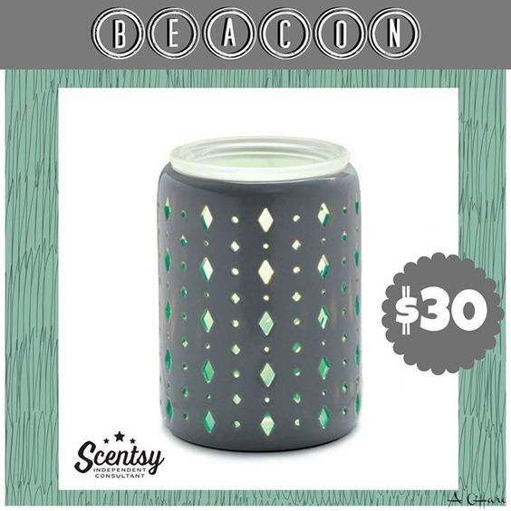 """Scentsy """"Beacon"""" wax warmer new for fall and winter 2016 #wickless #candles #scentsbykris"""