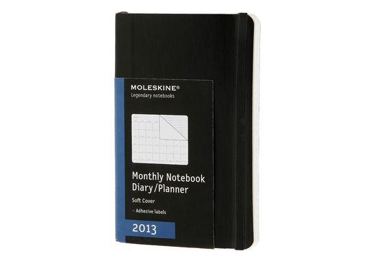 2013 Agenda - 12 mesi - Mensile Moleskine   Agende Moleskine Originali
