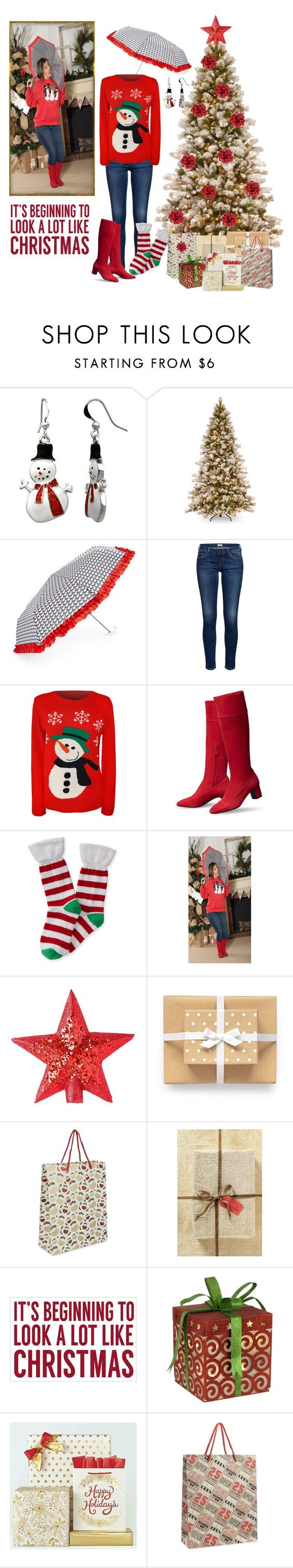 """""""Casual Christmas attire"""" by haz94styles ❤ liked on Polyvore featuring Kim Rogers, Tri-coastal Design, WearAll, Aéropostale, Vivid Wrap and Sixtrees"""