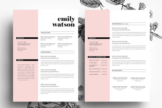 How to Make Creative Resumes for Creative Fields ~ Creative Market Blog