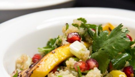 Grilled Veggie Salad with Quinoa – Σαλάτα με Ψητά Λαχανικά και Κινόα - The Healthy Cook