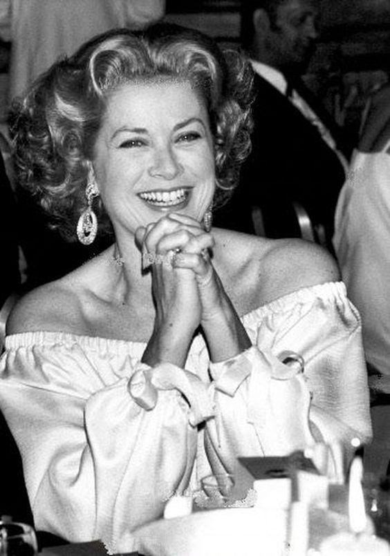 Grace Kelly    June 14, 1978  Grand Hotel   Paris