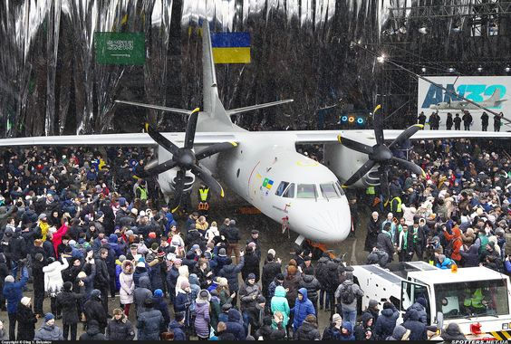 Spotters.Aero - Фото самолета (ID:113236) Antonov Design Bureau Antonov An-132D