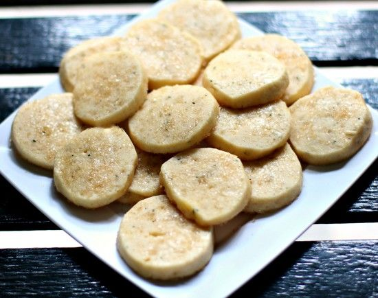 Rosemary Shortbread Cookies: