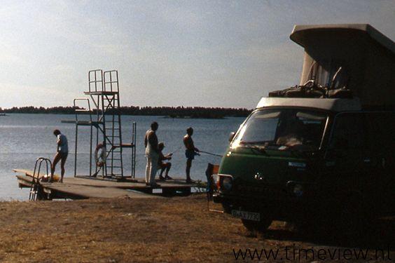 F019. Our little green Campervan
