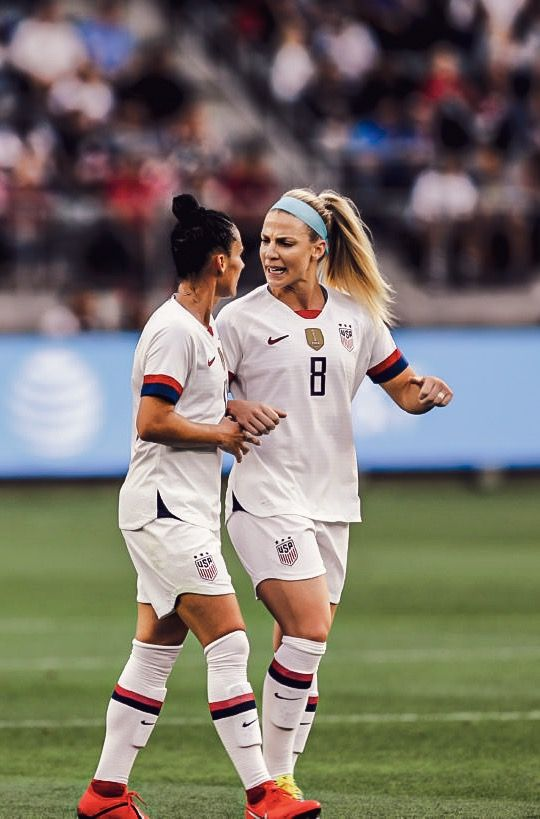 Ali Krieger And Julie Ertz 2019 Uswnt World Cup Team Usa Soccer Women Us Women S National Soccer Team Usa Soccer Team