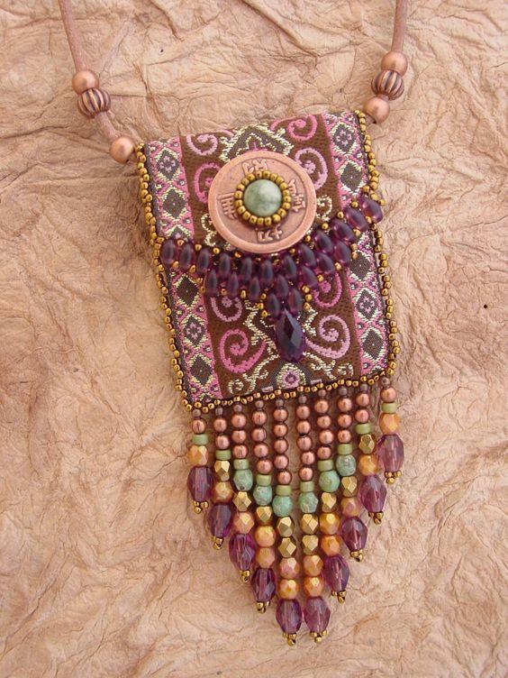 Ribbon Bag KIT in Purple (95.00 USD) by HeidiKummliDesigns - handmade - jewelry - jewellery - artisan - etsy