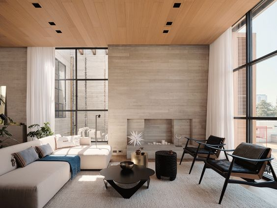 Studio Rick Joy Designs Concrete Apartments Polanco In Mexico City In 2020 Residential Interior House Design Interior Design