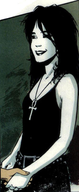 Death.  LOVE her!