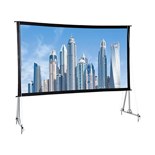 Amazonbasics Outdoor Projector Screen With Stand 16 9 Https Www Amazon Com Dp B07l9ktzq9 Outdoor Projector Screens Outdoor Projector Projector Screen