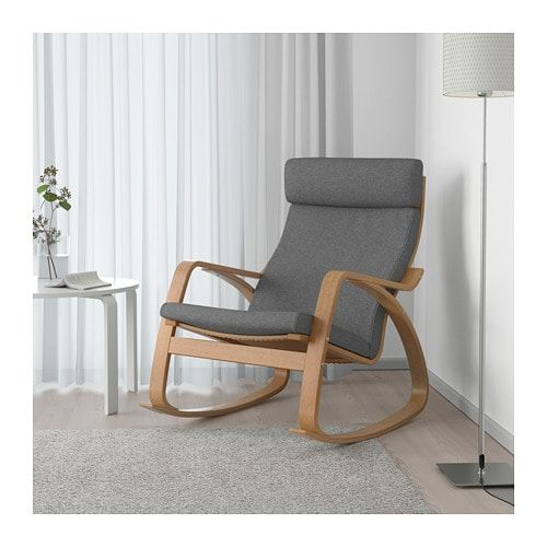 Ikea Poang Rocking Chair for Gray and