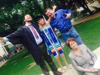 kendall ut grad w michael dad grandma