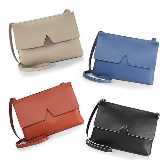 Rank & Style - Vince Signature Collection Baby Crossbody Bag #rankandstyle Rank & Style - Best Handbags Under $500 ...BECAUSE A GREAT BAG MAKES THE BEST GIFT, ALWAYS! https://www.rankandstyle.com/top-10-list/best-gift-list-handbags-under-500/: