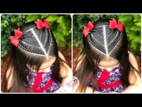 18 Peinados para ninas con pelo corto faciles
