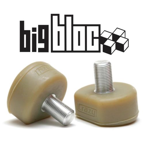 Buy Crazy Skates Big Bloc Toe Stops from Skatehut: