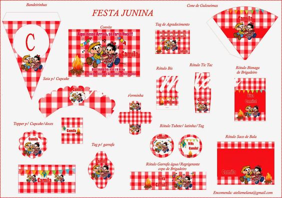 Ateliê Melana: Festa Junina