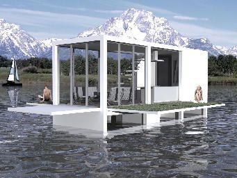 LOTO Infographistes | maison flotante ingles  #water