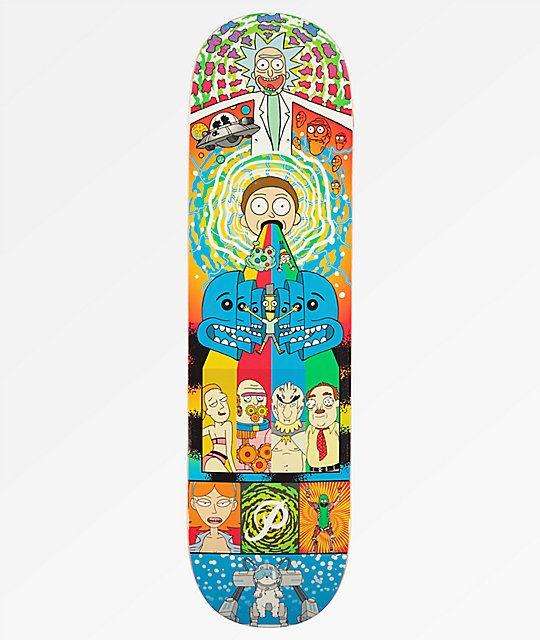 Skateboard Rick Et Morty