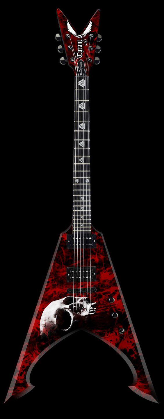 Dean Michael Amott Signature Tyrant Bloodstorm Electric Guitar