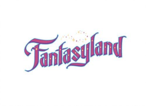 Fantasyland Logo Fantasyland Disney Rides Walt Disney Imagineering