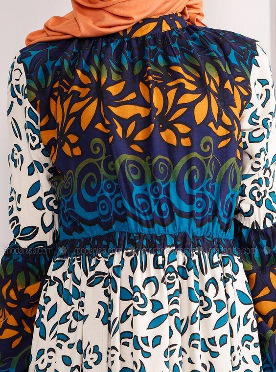 Desenli Elbise - Saks - Refka ucuz, kaliteli ve bir tık ötenizde. İncelemek ya da satın almak için tıklayınız...