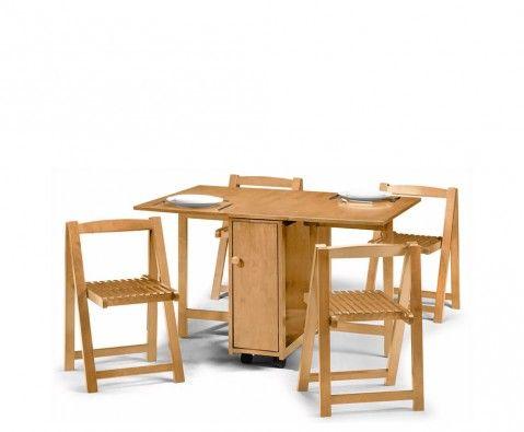 Frances hunt pentire light oak gateleg table - Gateleg table and chairs ...