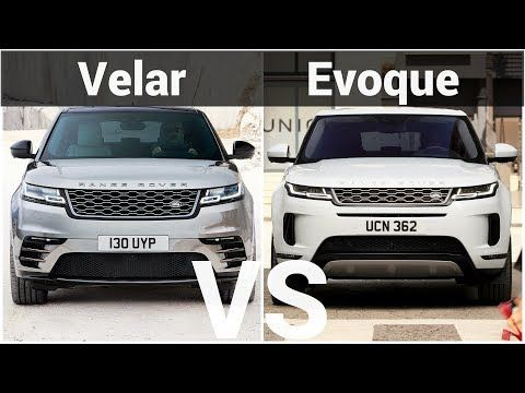 2019 Range Rover Evoque Vs Range Rover Velar Visual Design