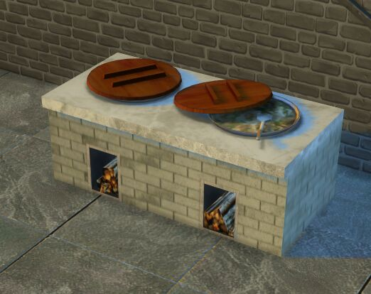 Sims 4 Chinese Style Stove Sims 4 Cc Furniture Sims 4 Sims 4 Mods