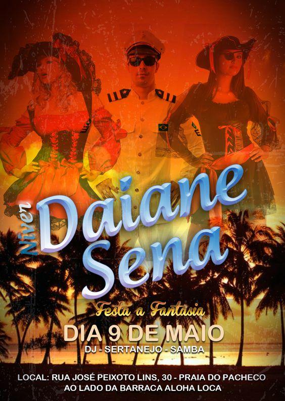 Chamada Niver da Daiane 2015