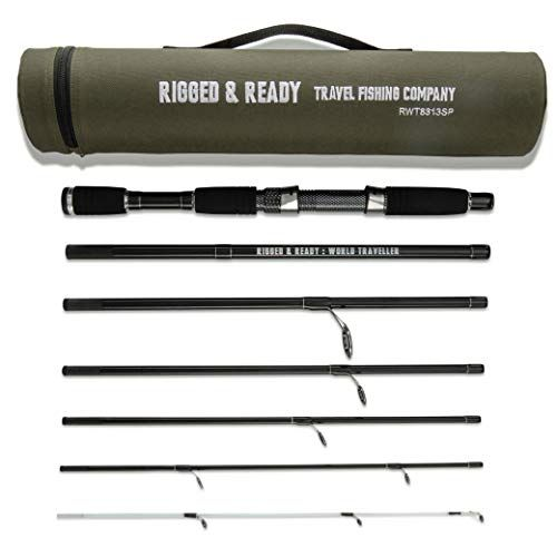 Rigged Ready Travel Fishing Heavy Weight Travel Fishing Rod British Designed Performance Travel Rod And Case Nan Travel Rod Travel Fishing Rod Fishing Rod