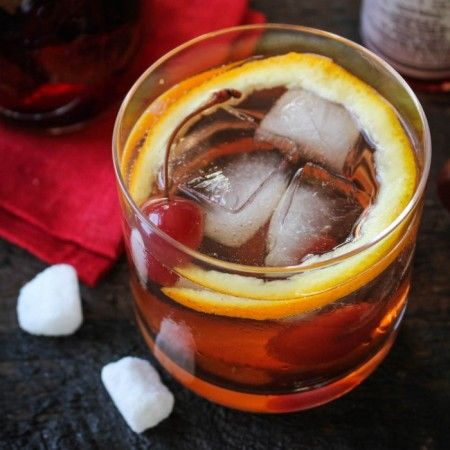 Fig Bourbon Old-Fashioned