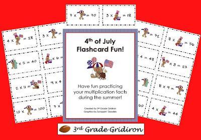 3rd Grade Gridiron: Friday Freebies!!!