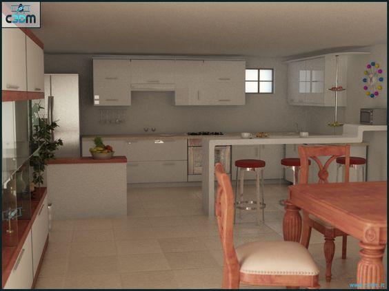 3D Graphic Design  Kitchen