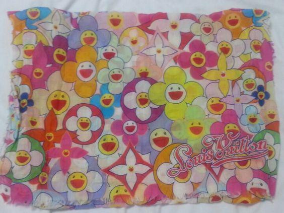 Louis Vuitton Murakami Cherry Blossom scarf