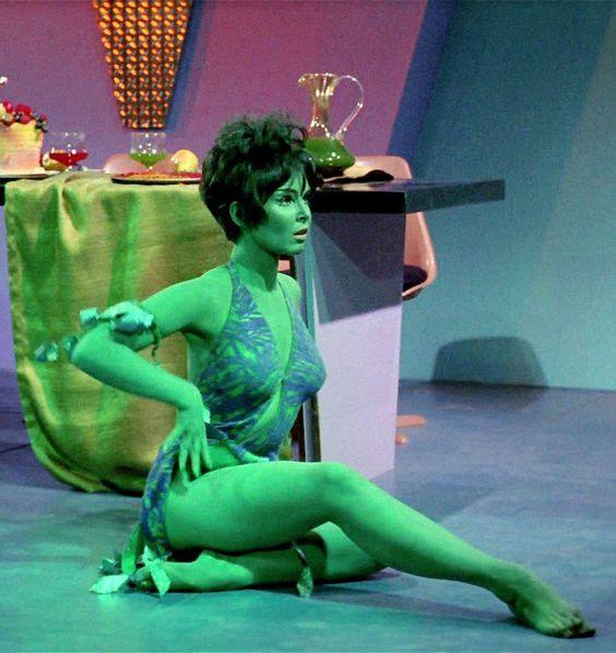 "Yvonne Craig as Marta on The Star Trek Episode, ""Whom God's Destroy""."
