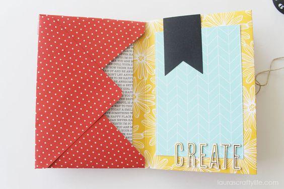 Envelope Mini Album - Create