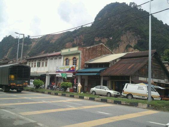 Padang Rengas, near Kuala Kangsar in Perak